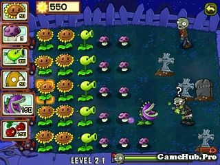Tải Game Plants vs Zombies Java của PopCap đả Crack