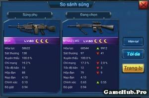 Chiến Dịch Huyền Thoại: Chọn súng nào để chơi Phối hợp ?