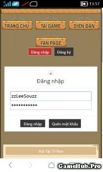 Hải Tặc Tí Hon: hướng dẫn đổi mật khẩu trong game HTTH