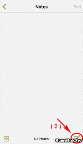 Hướng dẫn khóa vân tay cho ứng dụng Notes trên iOS 9.3