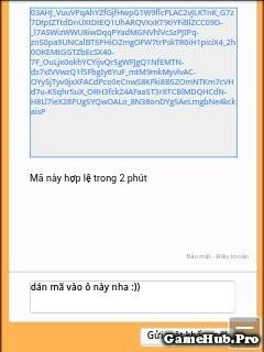Hướng dẫn xác minh lấy lại mật khẩu Ngọc Rồng Online