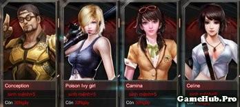 Tập Kích: Tìm hiểu hệ thống tất cả các nhân vật game