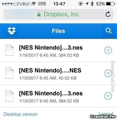 Hướng dẫn cách chơi giả lập game NES trên điện thoại