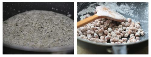 Hướng dẫn cách làm mứt đậu phộng bọc đường ngày Tết