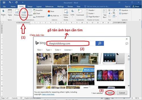 Hướng dẫn chèn ảnh và video vào Word đơn giản nhất