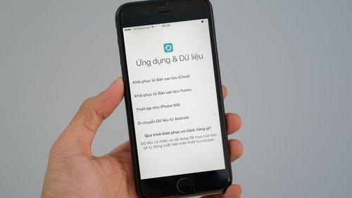 Chuyển dữ liệu từ Android sang iOS bằng công cụ Apple