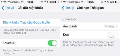 Hướng dẫn cách giới hạn thời gian khóa ứng dụng iOS