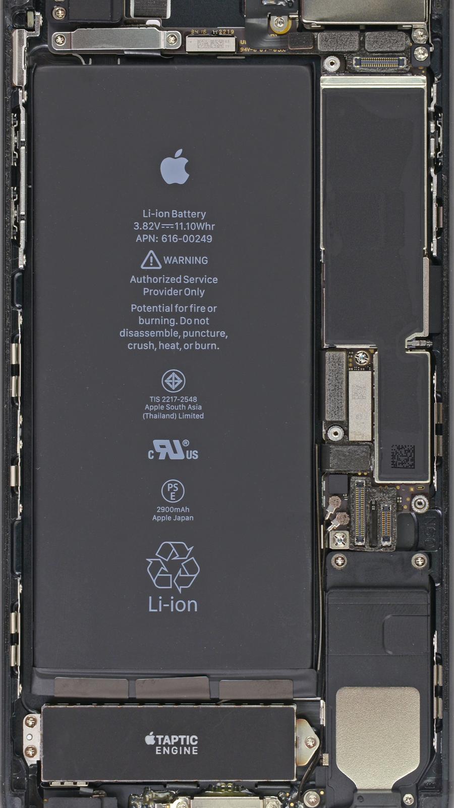 Bộ sưu tập hình nền xuyên thấu iPhone qua các đời