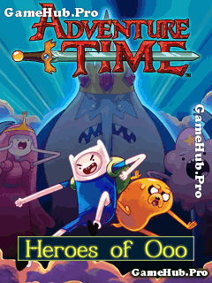 Tải game Adventure Time - Heroes Of Ooo Phiêu Lưu Java
