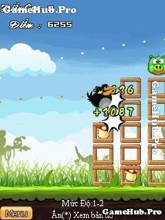 Tải game Angry Birds - Đêm Noel cực hay crack cho Java