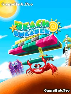Tải game Beach Breaker - Cua chắn bóng bãi biển cho Java