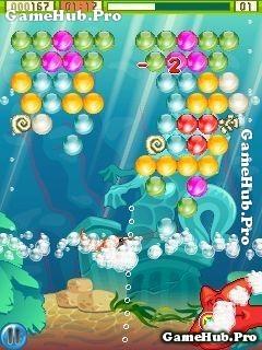 Tải game Bubblex Mania 2 - Bắn bóng dưới Đại Dương Java