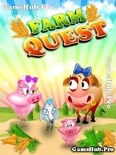 Tải game Farm Quest - Giúp bò trở về nhà vui nhộn Java