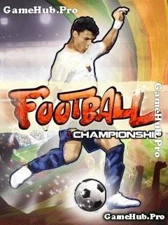 Tải game Football Championship - Đá bóng mới lạ cho Java