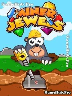 Tải game Miner Jewels - Thu thập kim cương lòng đất Java
