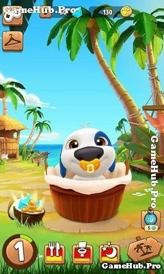 Tải game My Talking Hank - Bản Hack Mod Tiền Android
