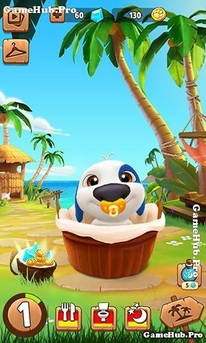 Tải game My Talking Hank - Nuôi Chó Cún cưng Android iOS