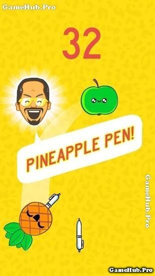Tải game Pineapple Pen - Cây viết và trái cây Android