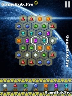 Tải game Space Jewels - Thu thập đá quý không gian Java