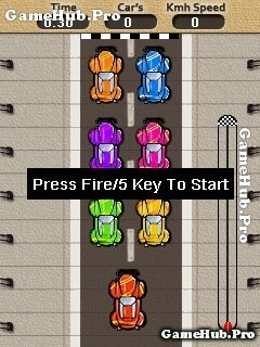 Tải game Speed Racing - Đua xe 2D đơn giản độc đáo Java