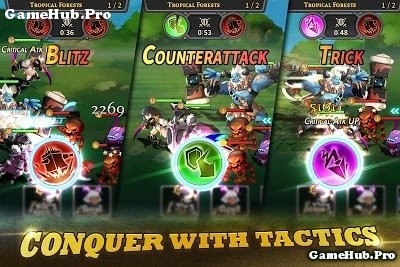 Tải game Tactics Squad - Dungeon Heroes nhập vai Android