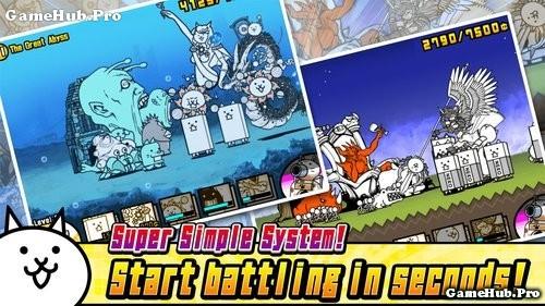 Tải game The Battle Cats - Mèo chiến đấu cho Android