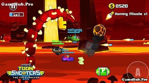 Tải game Toon Shooters 2 - Freelancers Hạm Đội Mod tiền