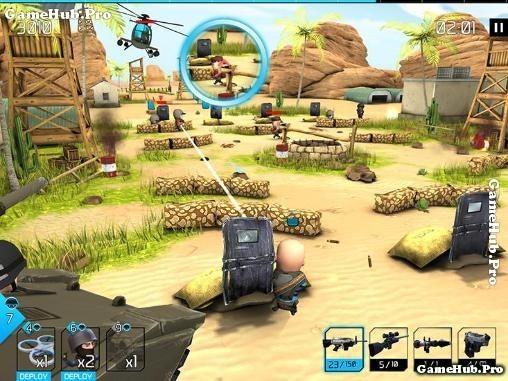 Tải game WarFriends - Đội quân bạn bè Bắn Súng Android