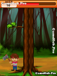 Tải game WoodMan Deluxe - Cắt gỗ không giới hạn cho Java