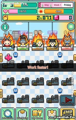 Tải game WorkeMon - Mô phỏng kinh doanh Mod Tiền Android