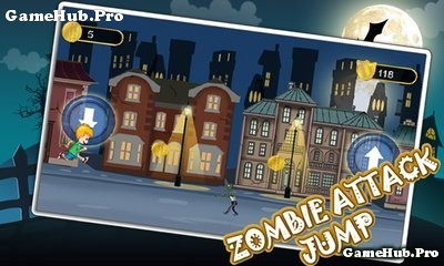 Tải game Zombie Attack Jump - Cuộc chạy trốn Android