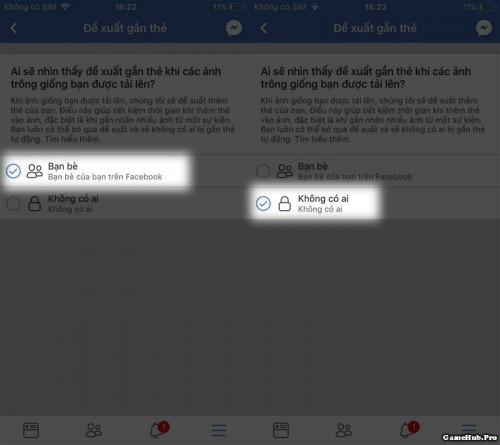 Cách tắt tính năng gắn thẻ nhận diện khuôn mặt Facebook