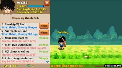 Ngọc Rồng: Nick Zin ngọc là gì ? Cách Up lên 1tr5 SM nhanh