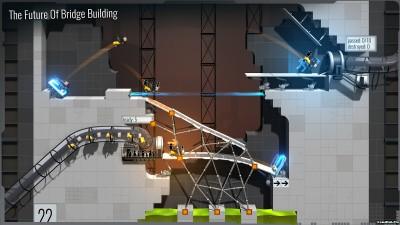 Tải game Bridge Constructor Portal - Thí nghiệm điên rồ