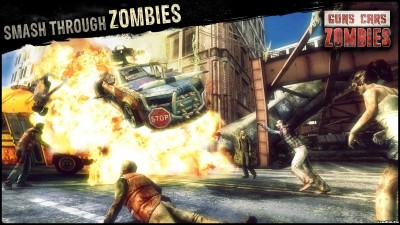 Tải game Guns, Cars and Zombies - Tấn công Zombie Mod