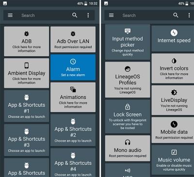 Hướng dẫn thêm 50 tính năng vào Quick Settings Android