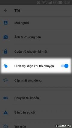 Thủ thuật tắt biểu tượng bong bóng chat trên Messenger