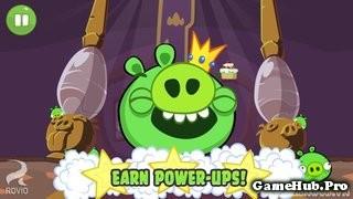Tải Game Bad Piggies HD Hack Full Power-ups cho Android
