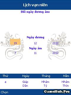 Tải Ứng Dụng Lịch Vạn Niên Java Mới Nhất 2015