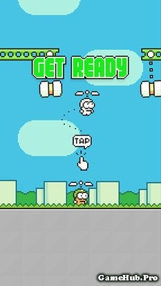 Tải Hack Swing Copters Bất Tử Cho Android miễn phí