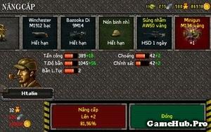 Hướng dẫn cải tiến và nâng cấp trong XForce Online