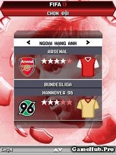 Tải Game FIFA 2013 Tiếng Việt Cho Java Crack miễn phí