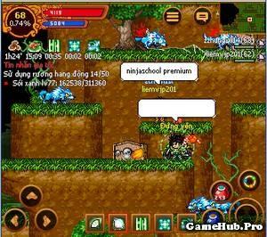 Thủ thuật UP MAP 77 VDMQ cho Xạ Chiến Ninja School