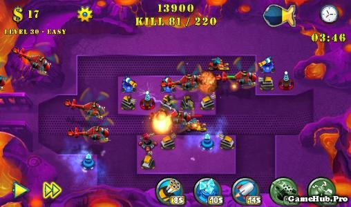 Tải Game Tower Defense Evolution 2 Hack Cho Android