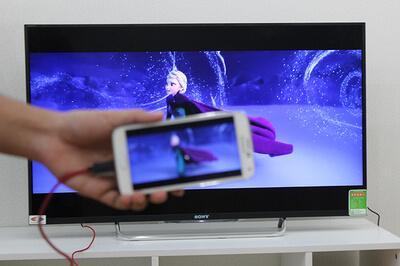 Cách để truyền hình ảnh, video từ điện thoại lên Tivi