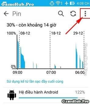 Hướng dẫn cách hiển thị phần trăm Pin trên Asus Zenfone