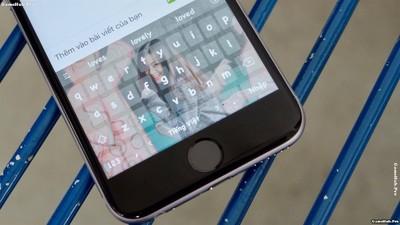 Cách thay đổi nền bàn phím và font chữ cho iPhone