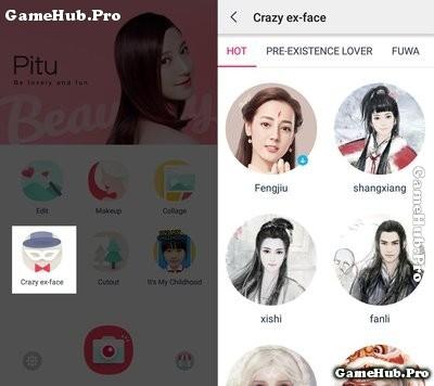 Hướng dẫn cách tạo ảnh Cổ Trang đang HOT bằng Pitu
