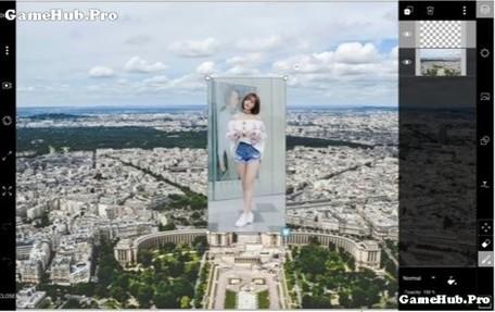 PicsArt cách chỉnh sửa để trở thành người Khổng Lồ