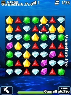Tải game Aqua Jewel - Thu thập đá Quý bí ẩn cho Java